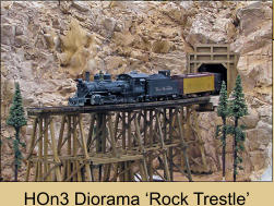 HOn3 Diorama 'Rock Trestle'